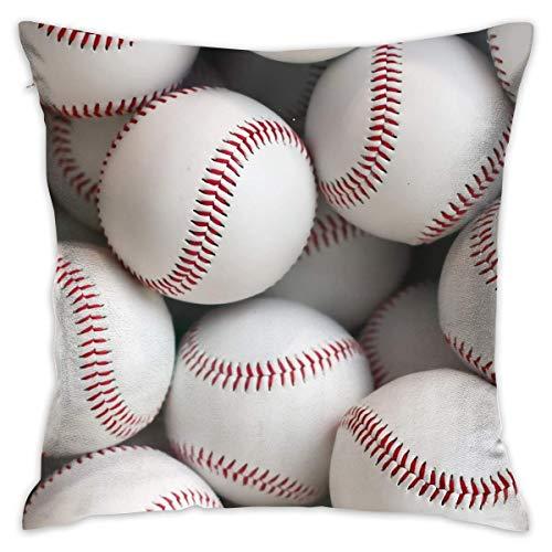 Helen vi White Baseball Home Dekorative Dekokissen Cases Kissen Kissenbezug Abdeckung 45x45 cm für Wohnzimmer Schlafzimmer Auto