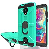 Wtiaw:Coolpad Legacy S Case,Coolpad Legacy SR Case,Coolpad 3648A Case,Coolpad Legacy S 3648A Case,360 Degree Rotation Metal Ring Grip Phone Cases for Coolpad Legacy S-KJ Mint