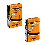 Continental Race 28 2 x chambre à air à valve Presta 700 20 25 à 42 mm valve de vélo