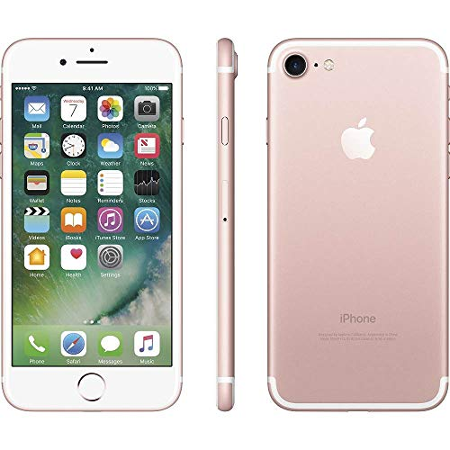 Apple iPhone 7, 128GB, Rose Gold - For AT\&T / T-Mobile (Renewed)