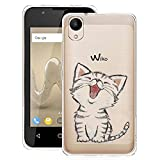 JIENI Case for Wiko Sunny 2 Transparent Soft Silicone TPU