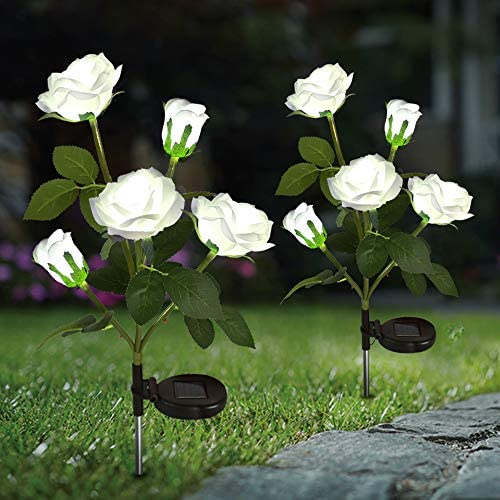Top 10 Best solar flower lights outdoor Reviews