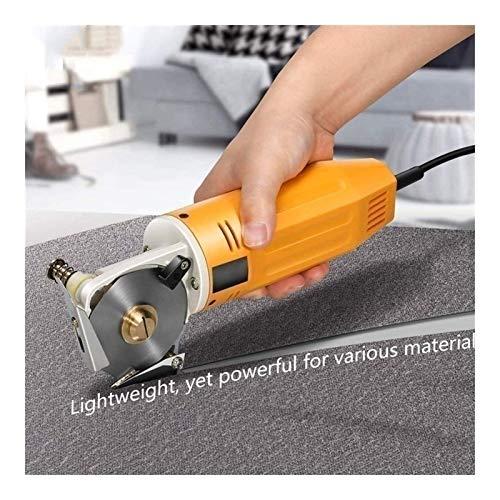 """MFFACAI Stoffrotationsschere, Elektrische Stoffscherenmaschine 2""""Rundmesser 70mm Rotationsklinge, Elektrische Stoffschere für die Textilindustrie"""