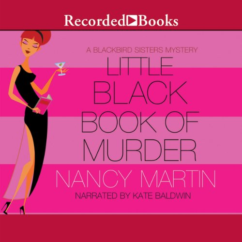 Little Black Book of Murder audiobook cover art