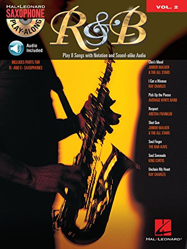 R&B Songbook (with Audio): Saxophone Play-Along Volume 2 (English Edition)