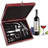 Smaier Set di 9 apribottiglie, in acciaio inox, vino, vino rosso