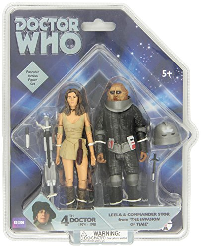 Underground Toys Doctor Who 'Invasion of Time' Action Figure Set, 5'