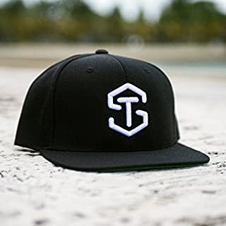 TYLER SEGUIN Classic Collection Cap - Black hat with White TS Logo