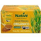 Açúcar Mascavo Orgânico 50 sachês de 4g Native