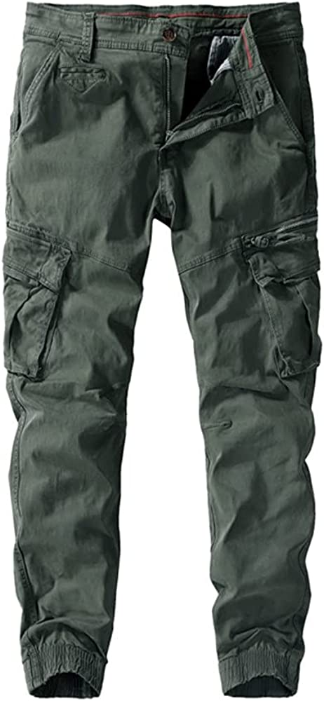 N\P Spring In a popularity Autumn Loose Overalls Pants Gorgeous Multi-Pocket Casual Men