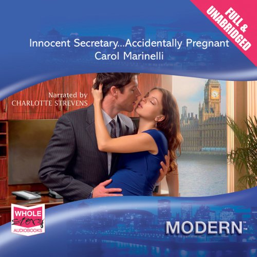 Innocent Secretary... Accidentally Pregnant audiobook cover art