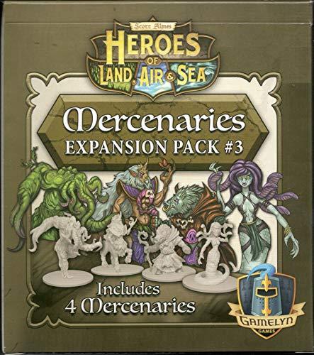 Gamelyn Games Heroes of Land, Air & Sea: Mercanary Pack 3