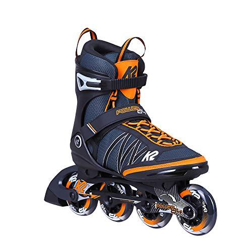 K2 Inline Skates POWER 84 Für Herren Mit K2 Softboot, Blue - Orange, 30C0380