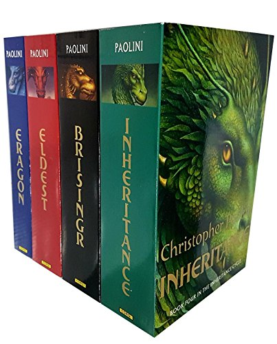 Christopher Paolini Inheritance 4 Books Collection Pack Set RRP: 23.97 (Erag...