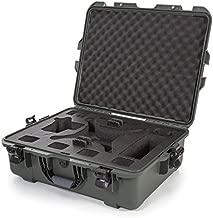 Nanuk DJI Drone Waterproof Hard Case with Custom Foam Insert for DJI Phantom 4/ Phantom 4 Pro (Pro+) / Advanced (Advanced+) & Phantom 3 - Olive