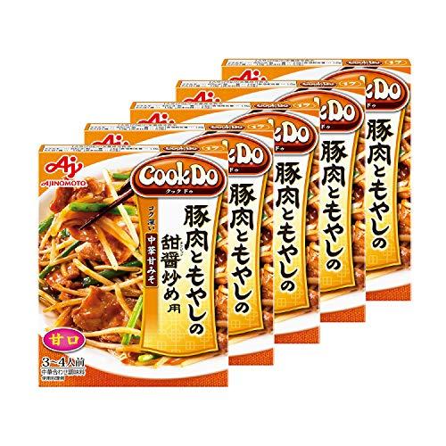 味の素 Cook Do 豚肉ともやしの甜醤炒め用 90g ×5個