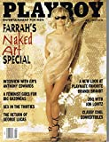 Actress FARRAH FAWCETT On Cover BACK ISSUE PLAYBOY MAGAZINE July 1997