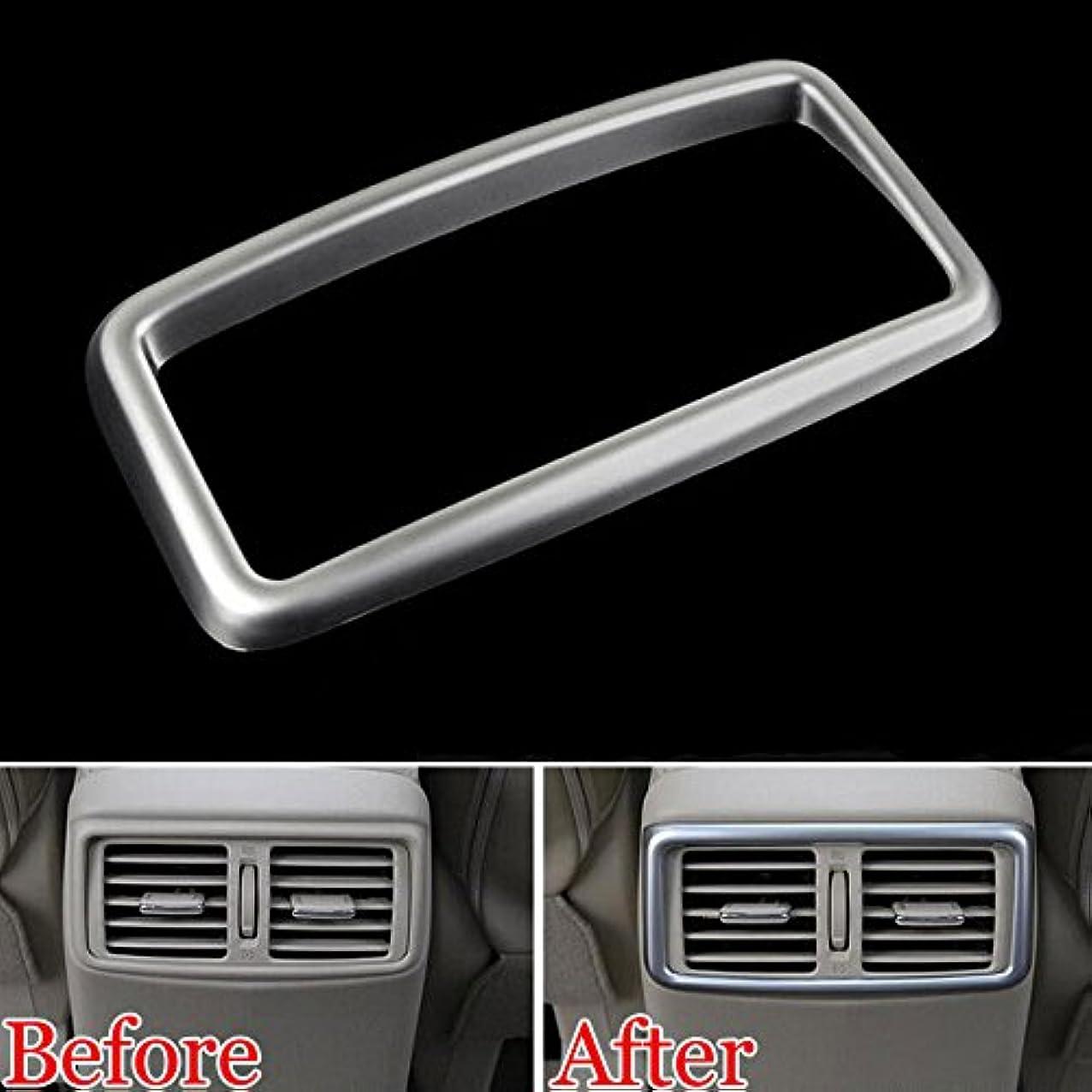 経歴強い固めるJicorzo - Car Armrest Rear Air Condition Vent Outlet Cover Trim Car Styling Molding For Nissan Rogue X-Trail 2014-2017 Nissan Qashqai J11