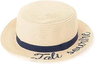 (アーヴェヴェ) a.v.v [KIDS]ロゴ刺繍カンカン帽 KG7GG21029