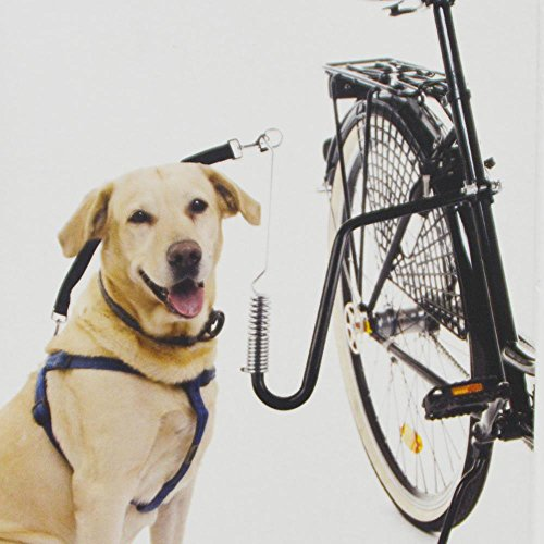 DRULINE Führhalter Abstandhalter Expander Fahrradhalter Fahrradleine Hund Biker Set