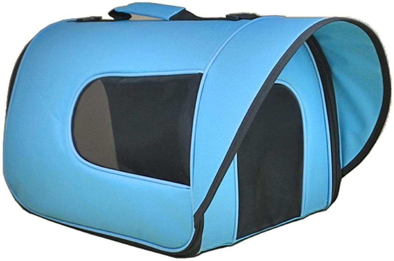 Dixinla Pet Carrier Backpack Out of pocket sunshade breathable single shoulder hand backpack