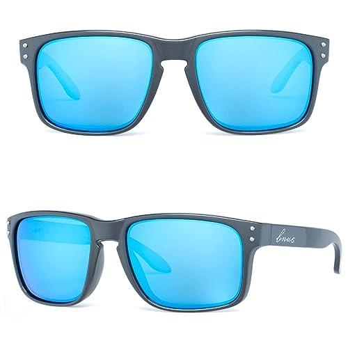 72d584c33f143 Bnus italy made classic sunglasses corning real glass lens w. polarized  option