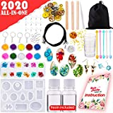 GoodyKing Resin Jewelry Making Starter Kit - Resin Kits for Beginners with Molds and Resin Jewelry Making...