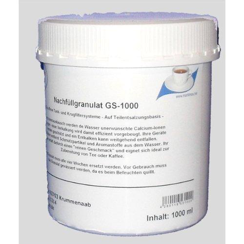 Filtergranulat, Nachfüllgranulat für Wasserfilter und Kaffeeautomaten 1l