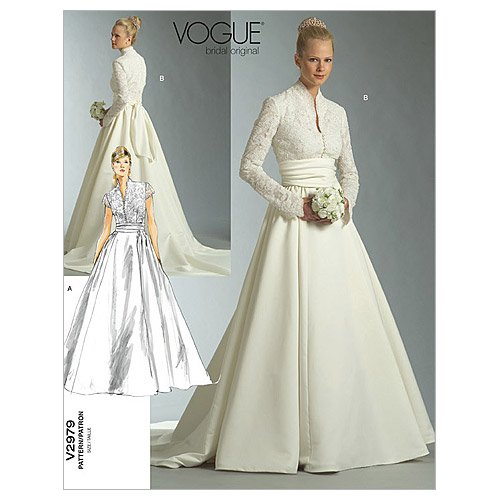 Vogue V2979 VGE FW (18-22) naaipatroon voor het naaien, elegant, extravagant, modieus