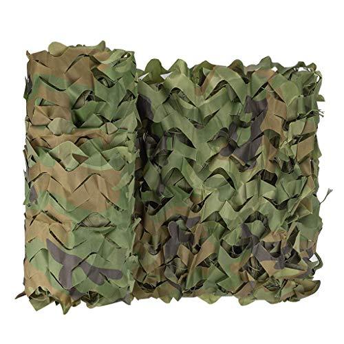 XUE Tarnnetz 4x6M für die Jagd Camouflage Netz für Bundeswehr Sniper Armee Fotografie Sonnenschutz Deko Militär Garten