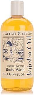 Crabtree & Evelyn Bath And Shower Gel, Jojoba Oil, 500 ml