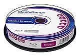 MediaRange Bluray 25GB 10pcs BD-RE Spindel 2X