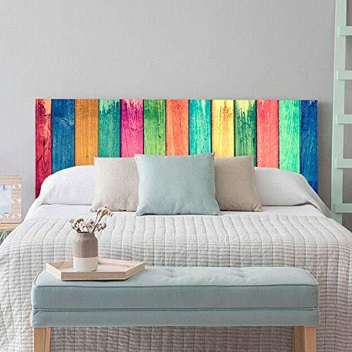 setecientosgramos Cabecero Cama PVC | WoodColour | Varias Medidas | Fácil colocación | Decoración Dormitorio (200x60cm)