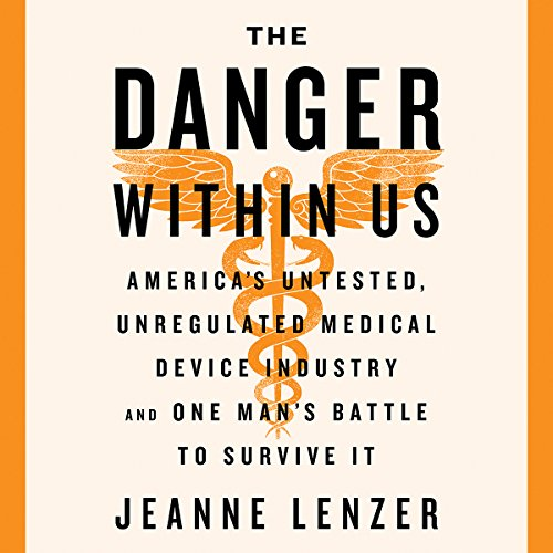 The Danger Within Us audiobook cover art