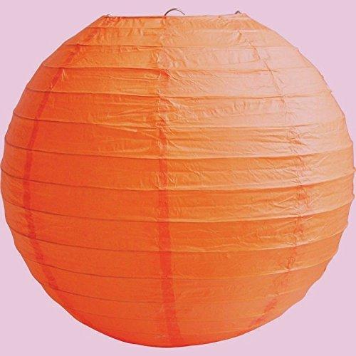matissa lampenkap van papier, 35 cm, 3 stuks, bruiloft, feestdecoratie, oranje