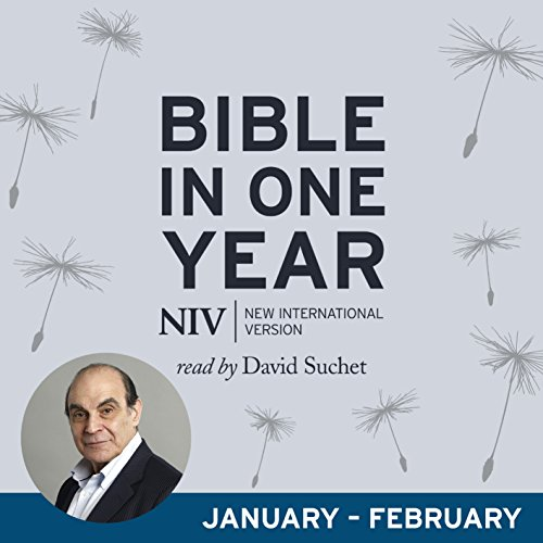 NIV Audio Bible in One Year (Jan-Feb) audiobook cover art
