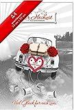 Hochzeitskarte XL,A4 Format