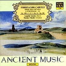 Ferdinando Carulli: Opere Per Chitarra E Fortepiano / Works for Guitar & Fortepiano, Vol. 7