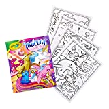 Crayola Unicorn Coloring Book, 40 Coloring Pages, Gift for Kids, Ages 3, 4, 5, 6, Multicolor