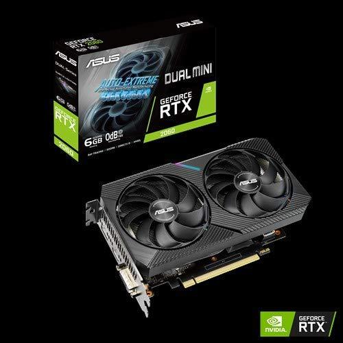 ASUS GeForce RTX 2060 Mini (6GB GDDR6/PCI Express 3.0/1365MHz - 1710MHz/14000MHz)
