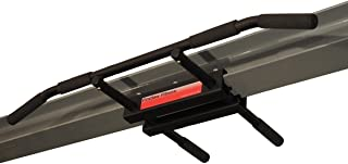 Firstlaw Fitness - 600 LBS Weight Limit - I-Beam Pull Up Bar - Long Bar with Bent Ends - Durable Rubber Grips - Red Label - Made in The USA!