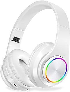 MDHANBK Auriculares estéreo inalámbricos Bluetooth, Auriculares Bluetooth con cancelación de Ruido para Auriculares Auricu...