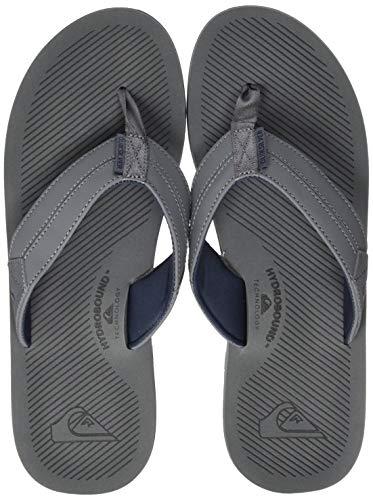 Quiksilver Coastal Oasis III, Zapatos de Playa y Piscina Hombre, Azul (Grey/Blue Xssb), 46 EU