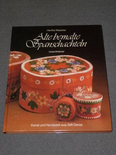 Alte bemalte Spanschachteln. Kunst und Handwerk aus Stift Geras