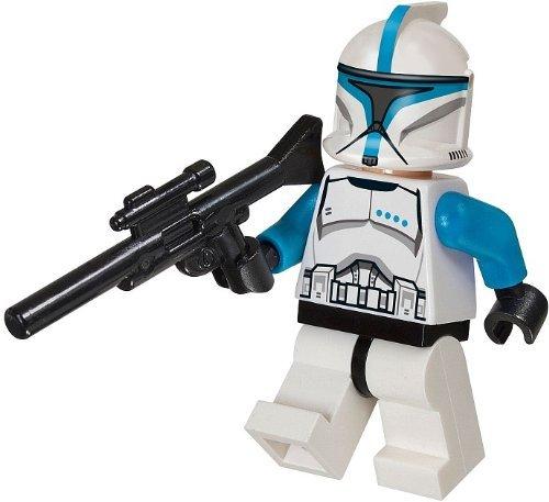 LEGO Star Wars - Minifigur Clone Trooper Lieutenant mit Gewehr