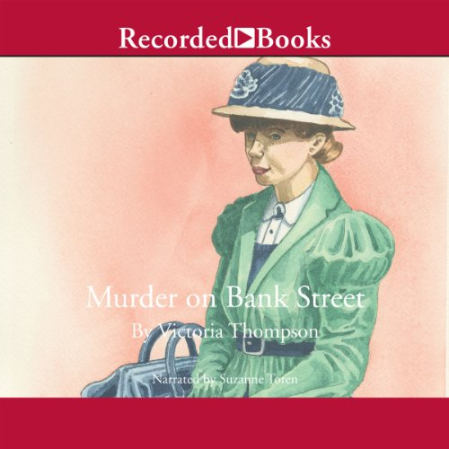 Murder on Bank Street audiobook cover art