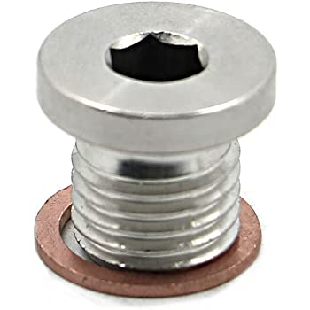 LS Engine Block Coolant Threaded Drain Plug LS1 LS2 LS3 L92 LQ4 LQ9 LSX M28 Freeze 551245