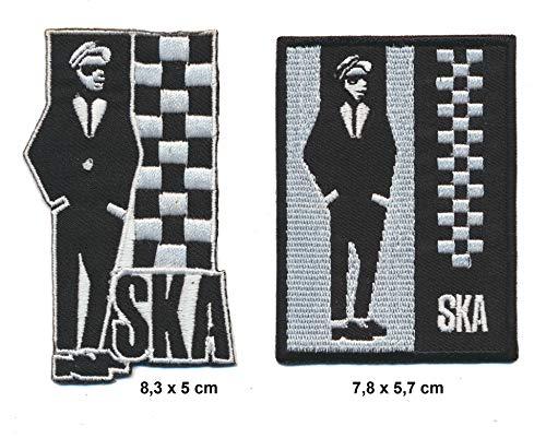 Ska - Parches para Planchar 2 Unidades
