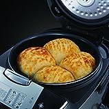Russell Hobbs 21850-56 Cook@Home Multicooker (900 Watt, 5 l, 11 Kochprogramme, Anti-Kondensations-Deckel, Warmhaltefunktion) schwarz/silber - 5