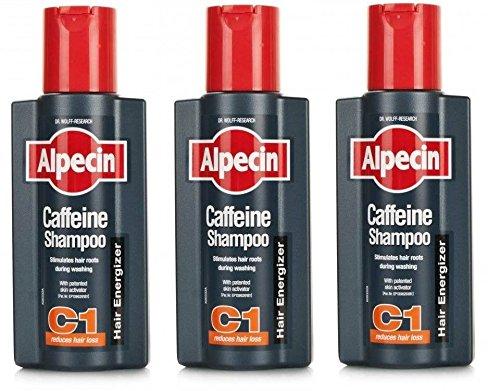 Alpecin Cafeïne haarshampoo 250 ml (pack van 3)